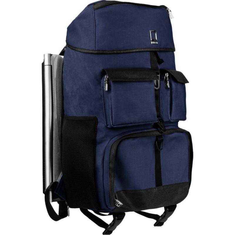 レンッカ Navy メンズ スーツケース バッグ Logan Luxury Rucksack Backpack Blue Navy Luxury Blue, Poeta Laureado:7d18ba4c --- municipalidaddeprimavera.cl