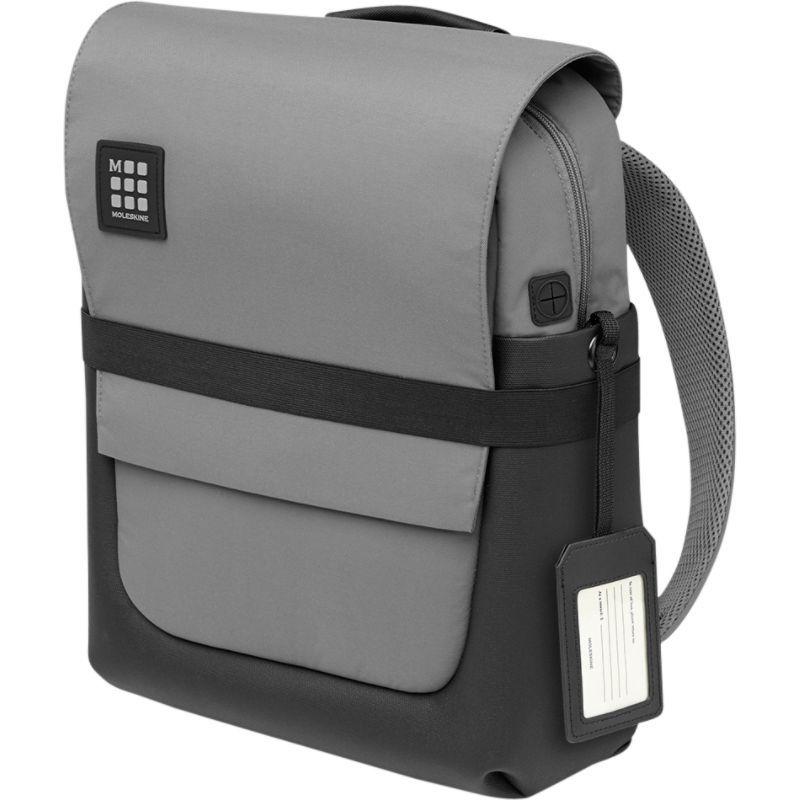 モレスキン メンズ スーツケース バッグ ID Backpack Slate Grey