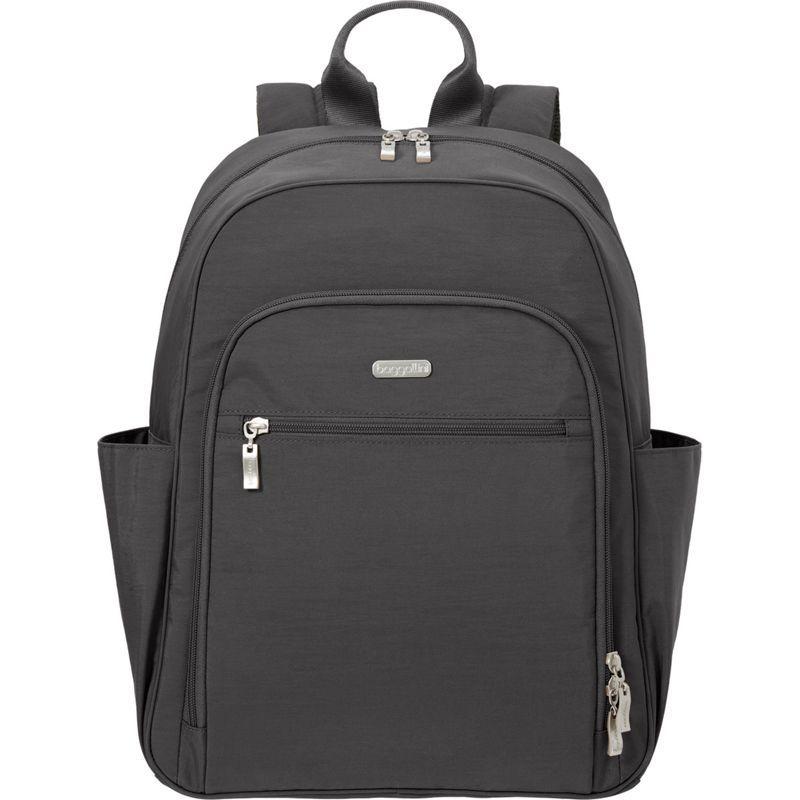 バッガリーニ メンズ バックパック・リュックサック バッグ Essential Laptop Backpack with RFID Charcoal