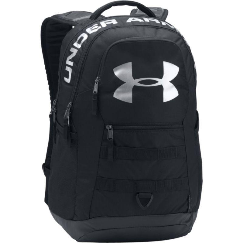 アンダーアーマー メンズ バックパック・リュックサック バッグ Big Logo 5.0 Laptop Backpack Black/Black/Silver