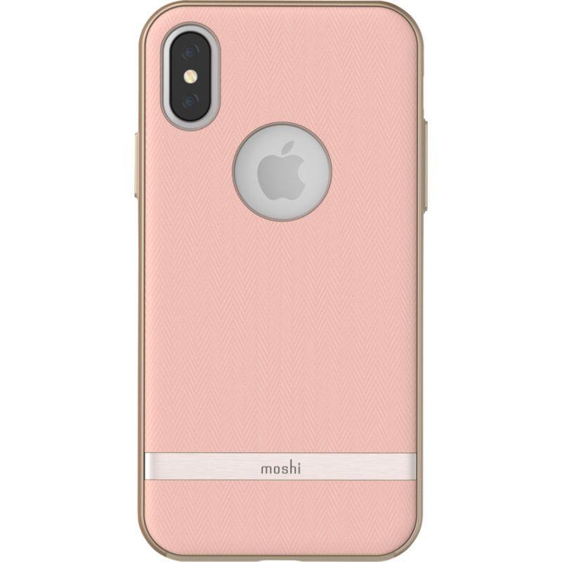 モシ メンズ PC・モバイルギア アクセサリー Vesta for iPhone X Pink