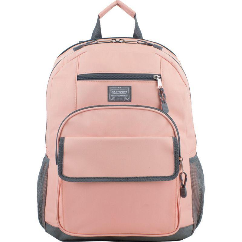 イーストポート メンズ バックパック・リュックサック バッグ Tech Backpack Blush Pink/Ash Gray