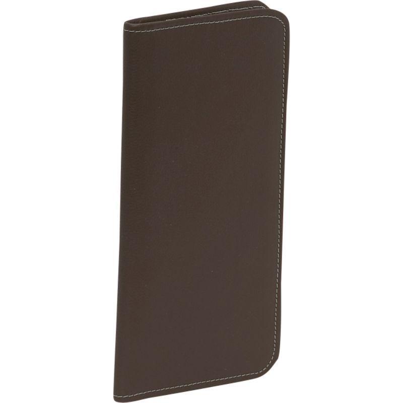ピエール メンズ 財布 アクセサリー Passport/Ticket Holder Chocolate