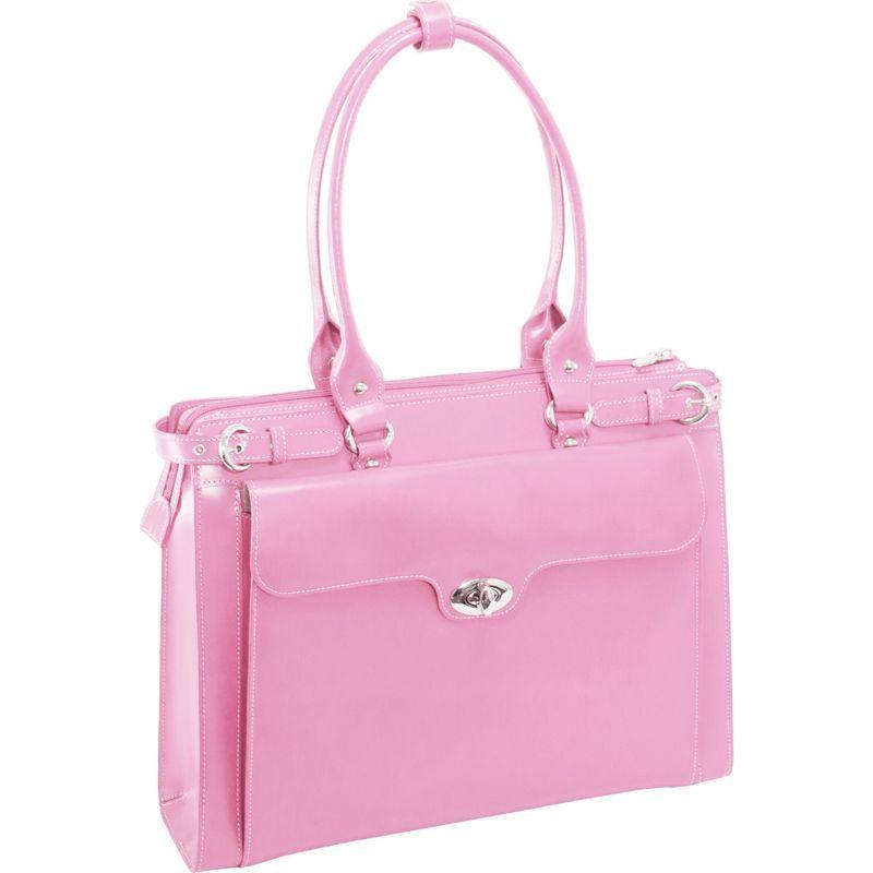 マックレイン レディース スーツケース バッグ W Series Winnetka Leather Women's 15.4 Laptop Case Pink