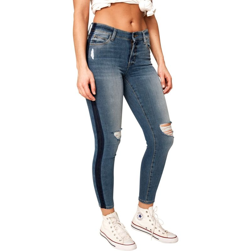 ロル レディース カジュアルパンツ ボトムス Lole Jeans Skinny 7/8 High Waist 26 - Light Wash