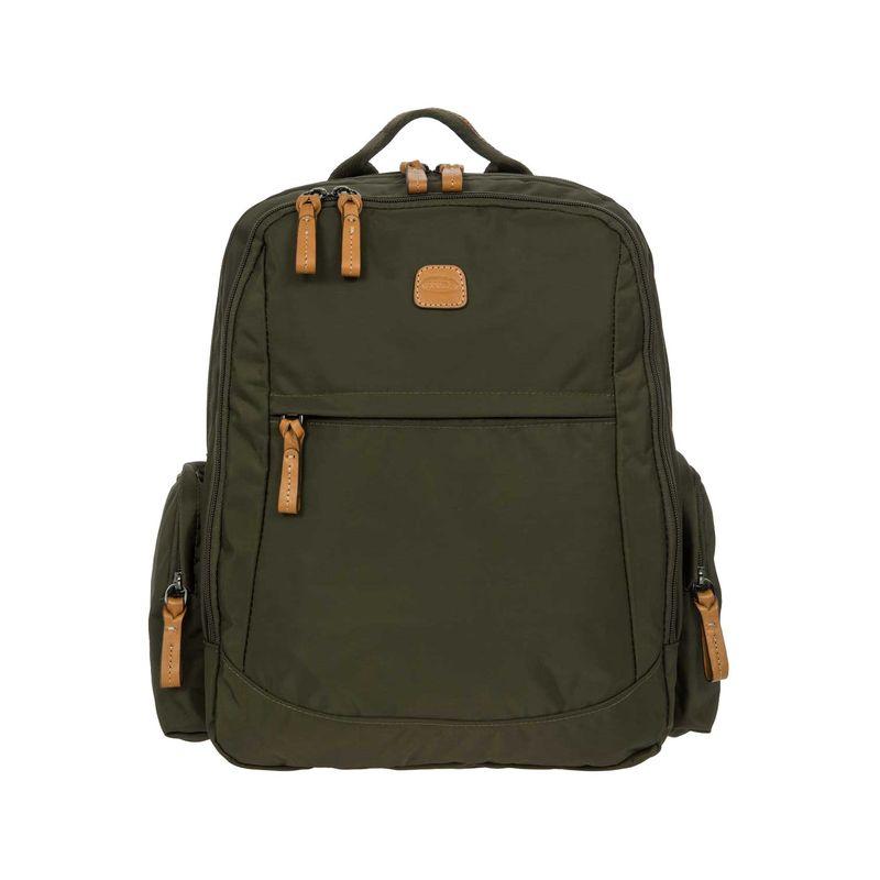 ブリックス メンズ スーツケース バッグ X-Bag Normad Laptop Backpack Olive