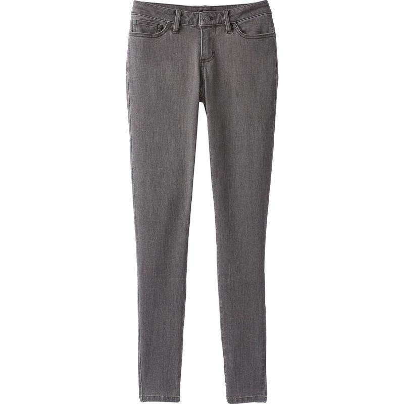 プラーナ レディース カジュアルパンツ ボトムス London Jean - Short Inseam 2 - Petite - Grey Denim