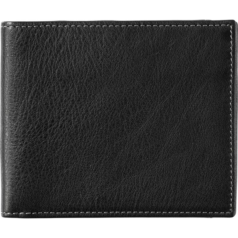 ジョンストンアンドマーフィー メンズ 財布 アクセサリー Super Slim Wallet Black
