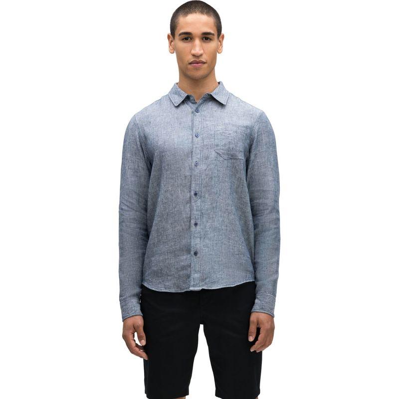 ナウ クロージング メンズ シャツ トップス Mens Cascade Long Sleeve Shirt S - Space