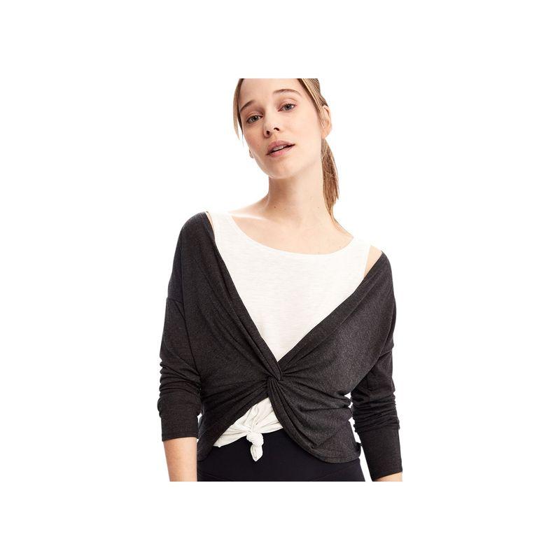 ロル レディース シャツ トップス Assent Long Sleeve XS - Black Heather