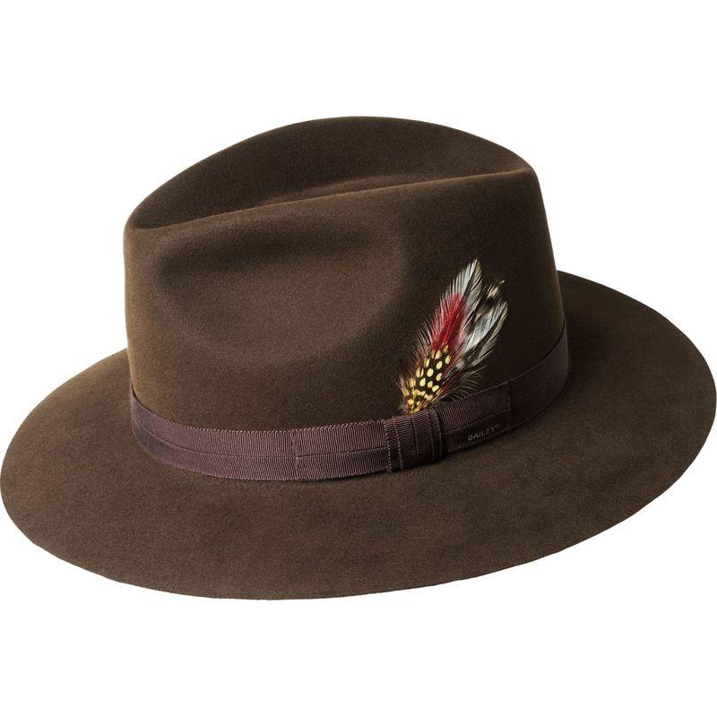 ベーリー オブ ハリウッド メンズ 帽子 アクセサリー Girvin Hat M - Chocolate