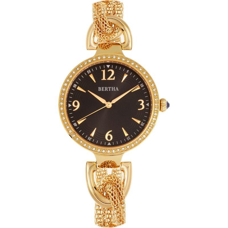 ベルサ メンズ 腕時計 アクセサリー Sarah Chain-Link Watch with Hanging Charm Gold/Black