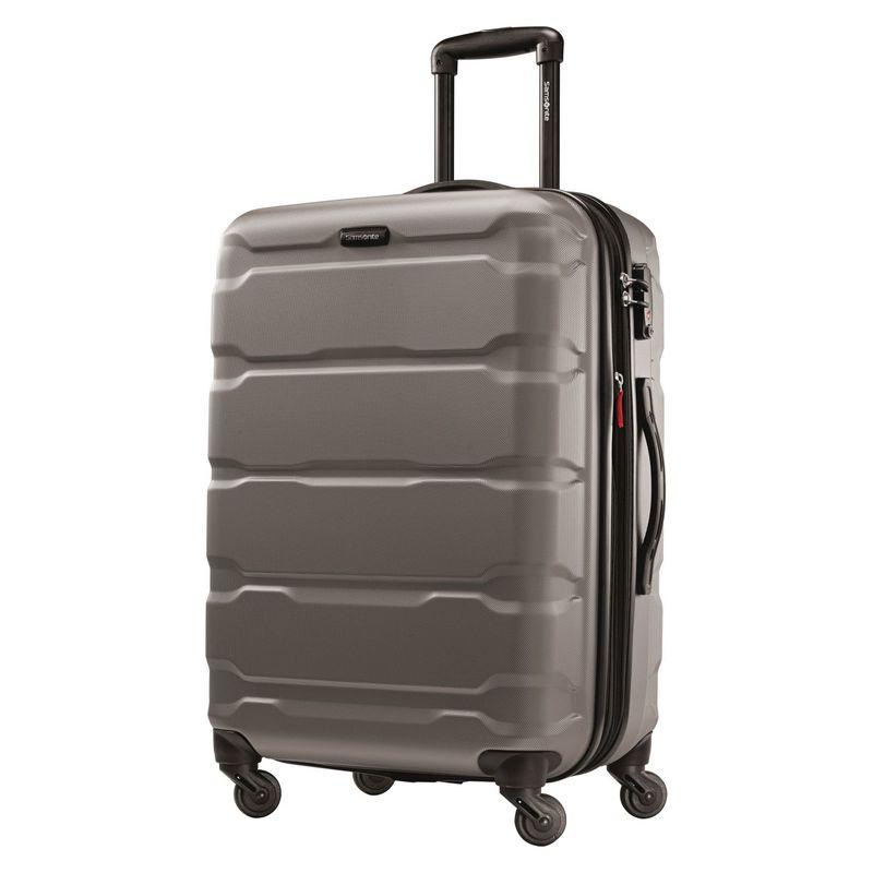 サムソナイト メンズ スーツケース バッグ Omni PC Hardside Spinner 24 Silver