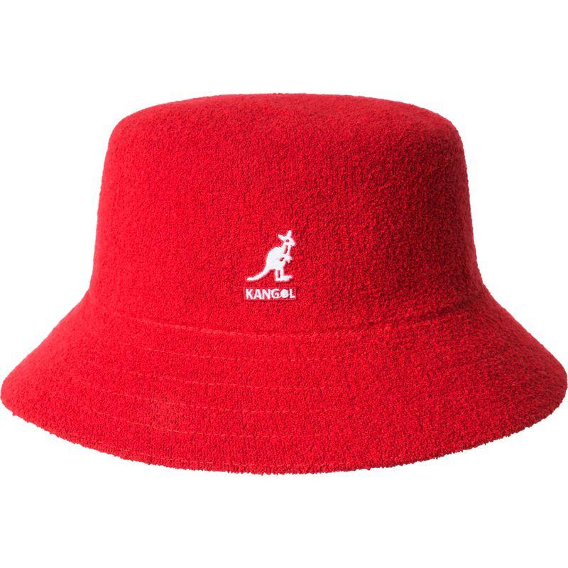 送料無料 サイズ交換無料 カンゴール メンズ アクセサリー 帽子 M - Scarlet カンゴール メンズ 帽子 アクセサリー Bermuda Bucket Hat M - Scarlet