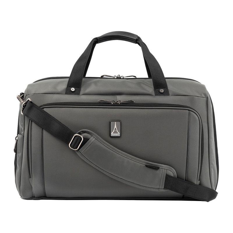 トラベルプロ メンズ スーツケース バッグ Crew Versapack Weekender Carry-On Duffel Bag with Suiter Titanium Grey