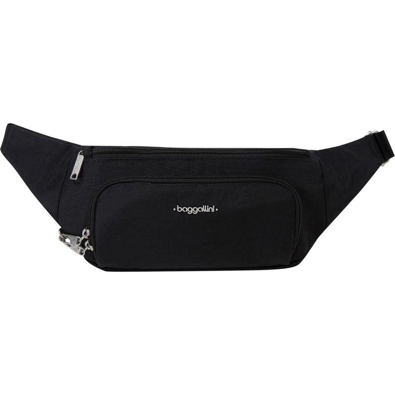 バッガリーニ メンズ ボディバッグ・ウエストポーチ バッグ Handsfree RFID Waistpack Bag Black/Sand Lining
