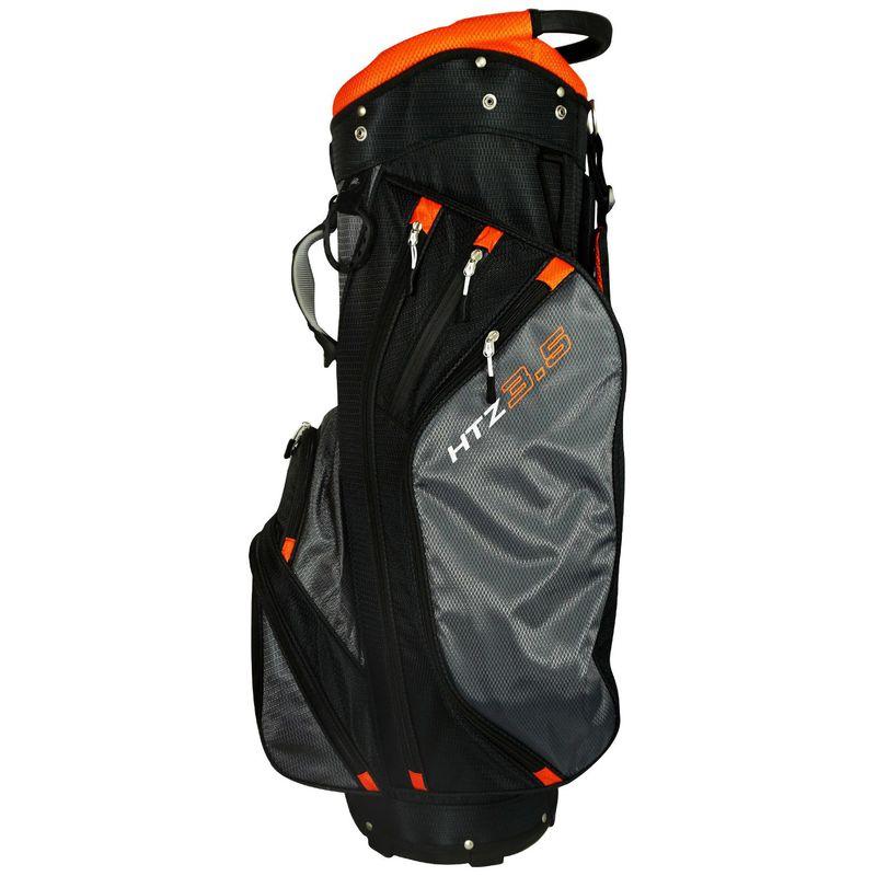 ホットジーゴルフ メンズ ボストンバッグ バッグ 3.5 Cart Bag Orange/Black/Gray