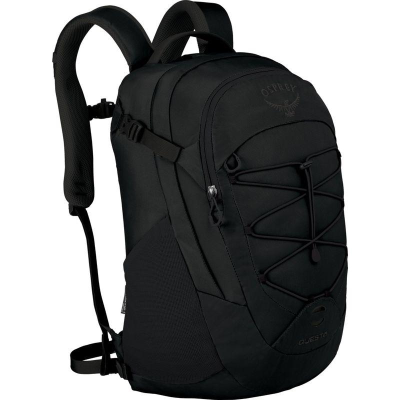 オスプレー メンズ スーツケース バッグ Questa Laptop Backpack Black