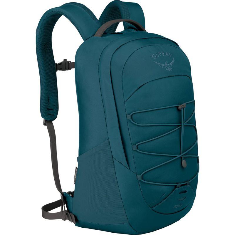 オスプレー メンズ バックパック・リュックサック バッグ Axis Laptop Backpack Ethel Blue
