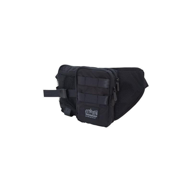 マンハッタンポーテージ メンズ ボディバッグ・ウエストポーチ バッグ Echelon Waist Bag Black
