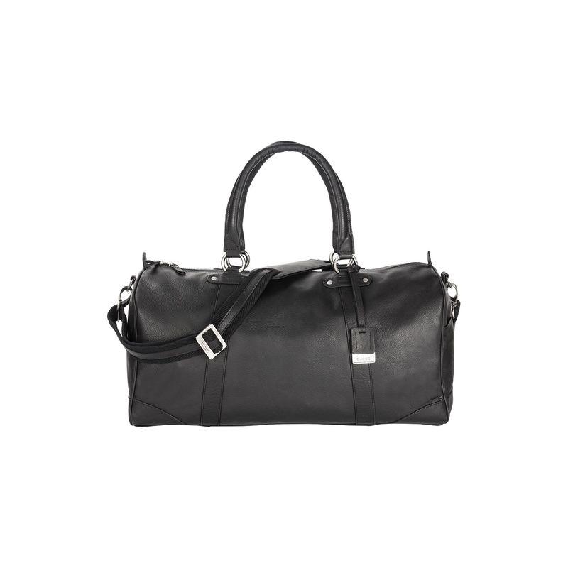 ブガッティ メンズ スーツケース バッグ Perreira Duffle Bag Leather Black