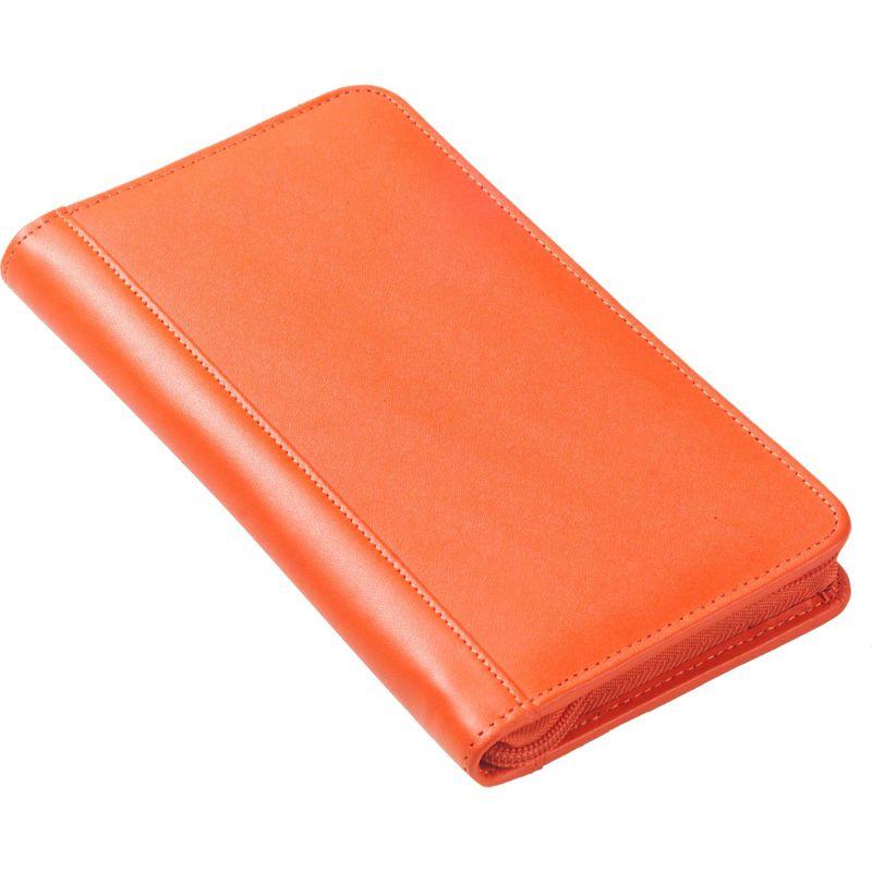 クレバ メンズ 財布 アクセサリー Split Zip Travel Wallet CI Orange