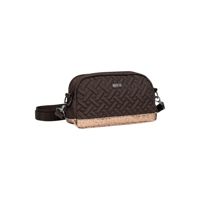 ラグ メンズ ボディバッグ・ウエストポーチ バッグ Punter Crossbody Bag Chocolate / Bronze