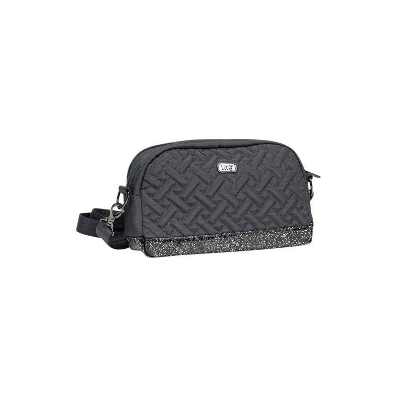 ラグ メンズ ボディバッグ・ウエストポーチ バッグ Punter Crossbody Bag Grey / Silver