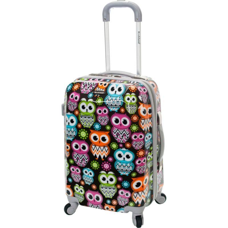 ロックランド メンズ スーツケース バッグ 20 Vision Polycarbonate Carry-On OWL
