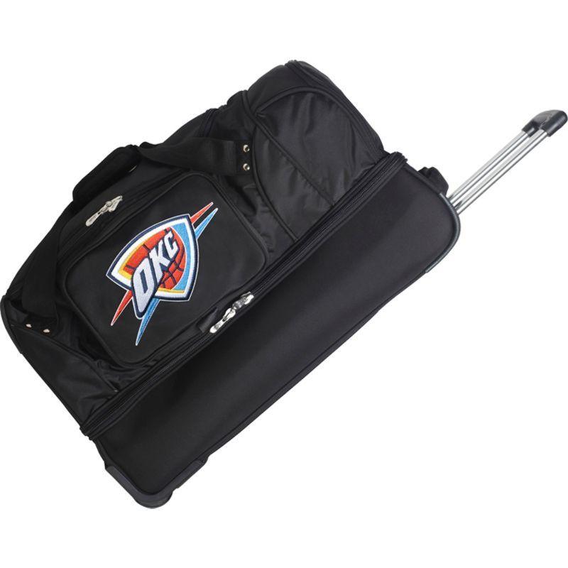 デンコスポーツ メンズ スーツケース バッグ NBA 27 Drop Bottom Wheeled Duffel Bag Oklahoma City Thunder