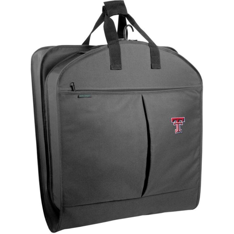 ウォーリーバッグ メンズ スーツケース バッグ Texas Tech University 40 Suit Length Garment Bag w/ Pockets Black