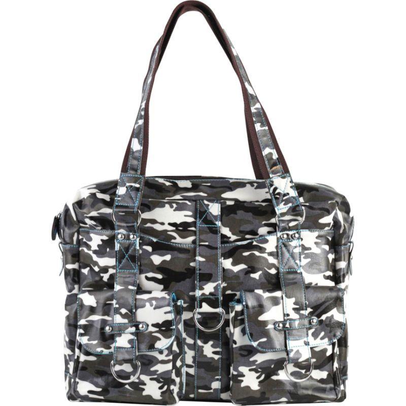 アーバンジュンケット メンズ スーツケース バッグ Robin Laptop Bag Grey Camouflage