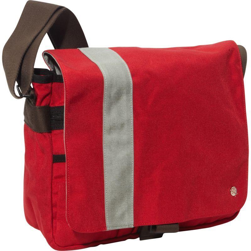トーケン メンズ ショルダーバッグ バッグ Astor Shoulder Bag (M) W Red/Silver