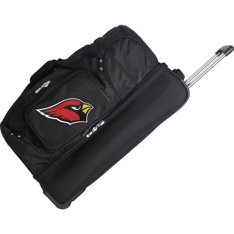 デンコスポーツ メンズ スーツケース バッグ NFL 27 Drop Bottom Wheeled Duffel Bag Arizona Cardinals