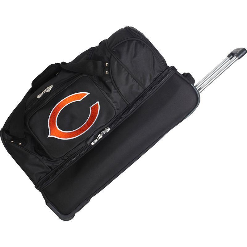 デンコスポーツ メンズ スーツケース バッグ NFL 27 Drop Bottom Wheeled Duffel Bag Chicago Bears