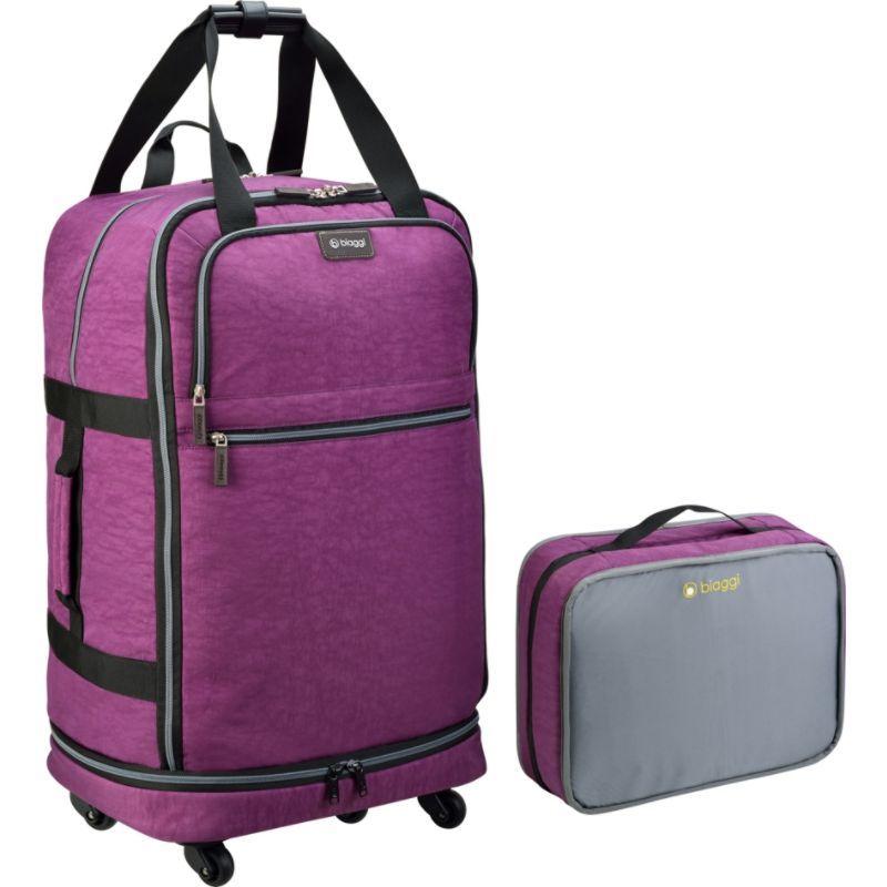 ビアッギ メンズ スーツケース バッグ ZipSak 27 MicroFold Upright Purple