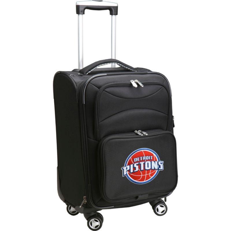 デンコスポーツ メンズ スーツケース バッグ NBA 20 Domestic Carry-On Spinner Detroit Pistons