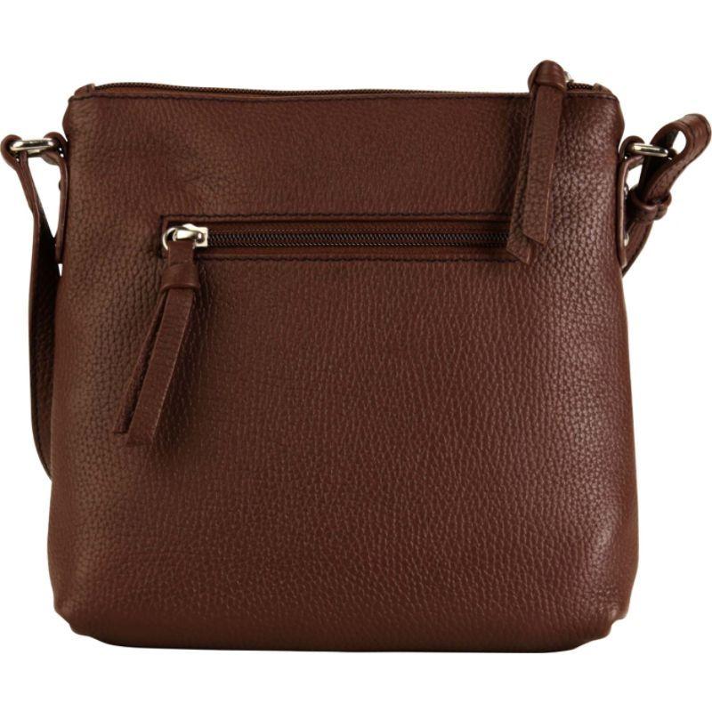 ハダキ メンズ ボディバッグ・ウエストポーチ バッグ Susan Crossbody Handbag Cognac