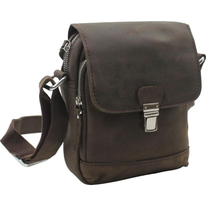 ヴァガボンドトラベラー メンズ ボディバッグ・ウエストポーチ バッグ 8.5 Slim Leather Sling Handbag Distress