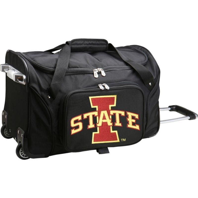 デンコスポーツ メンズ スーツケース バッグ NCAA 22 Rolling Duffel Iowa State University Cyclones