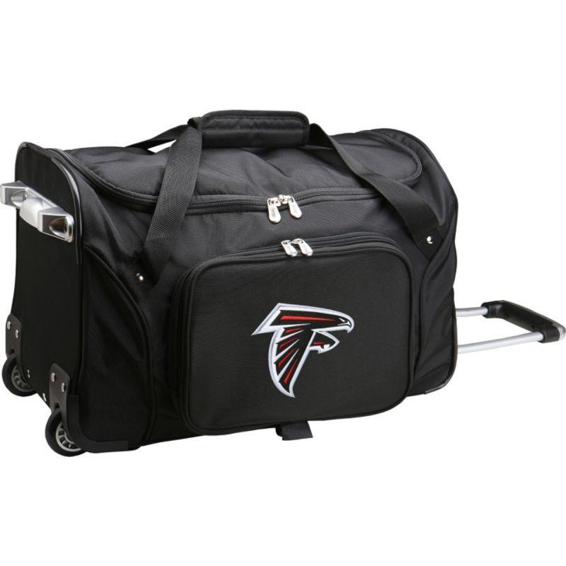 デンコスポーツ メンズ スーツケース バッグ NFL 22 Rolling Duffel Atlanta Falcons