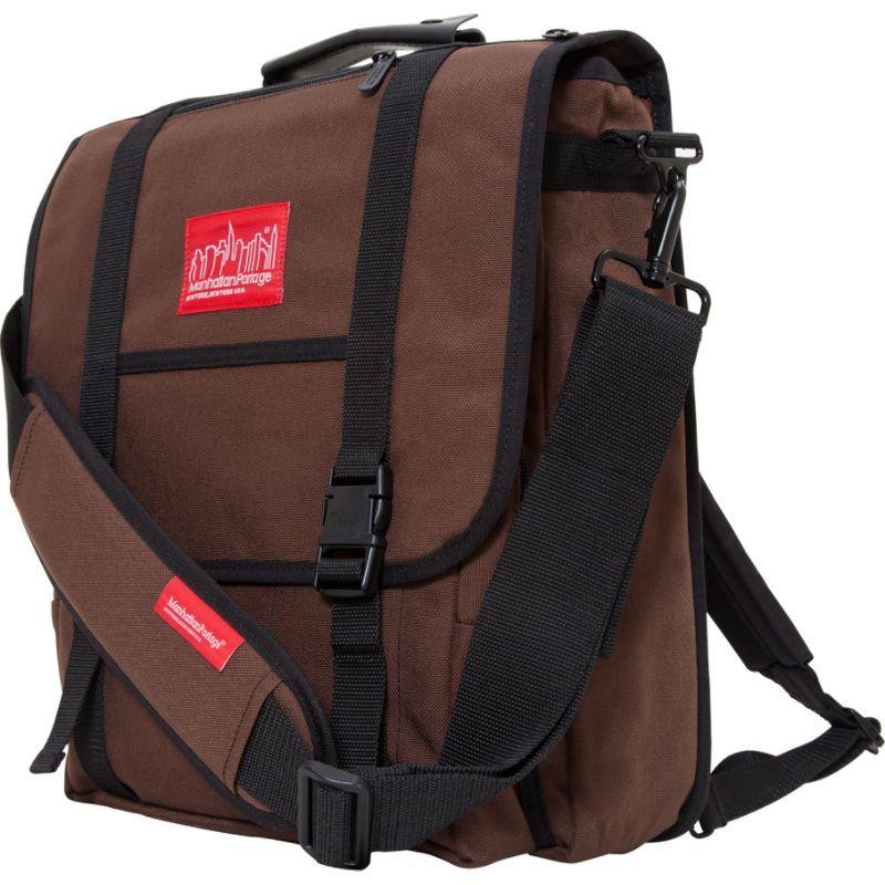 マンハッタンポーテージ メンズ ショルダーバッグ バッグ Commuter Laptop Bag Dark Brown