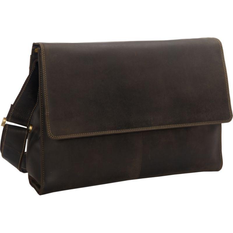 faf556ba606c ビスコッティ メンズ ショルダーバッグ バッグ Laptop Crossbody Leather Messenger Bag Oil Brown