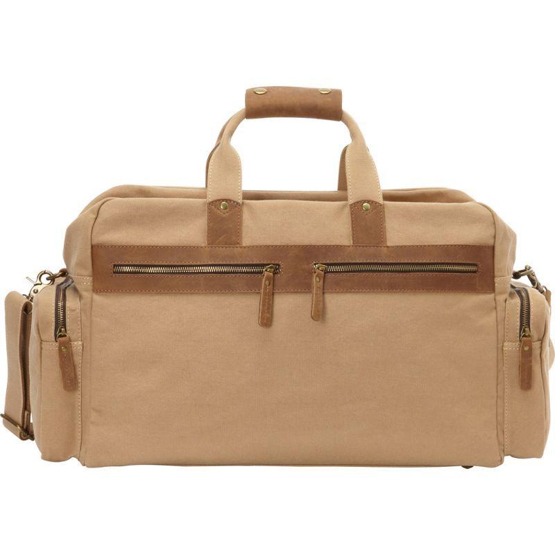 ヴァガボンドトラベラー メンズ スーツケース バッグ Classic Large Canvas Duffle Travel Bag Khaki