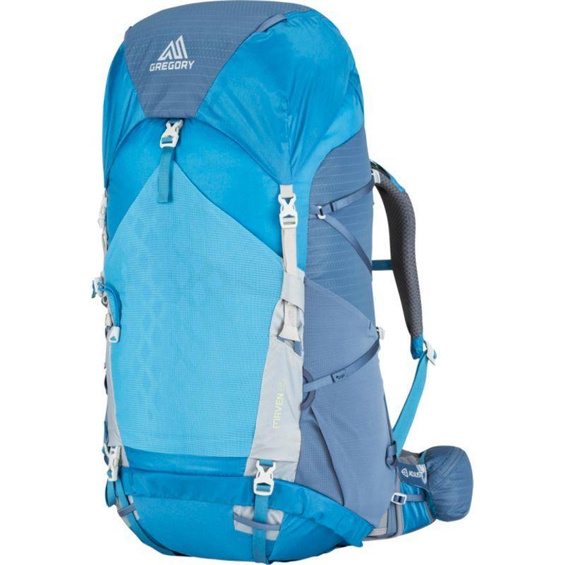 グレゴリー メンズ バックパック・リュックサック バッグ Maven 65 Hiking Backpack - Extra Small/Small River Blue
