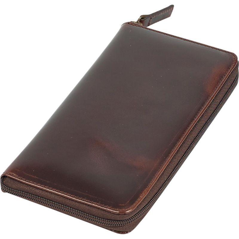 クレアーチャイス メンズ 財布 アクセサリー Executive Travel Wallet Dark Brown