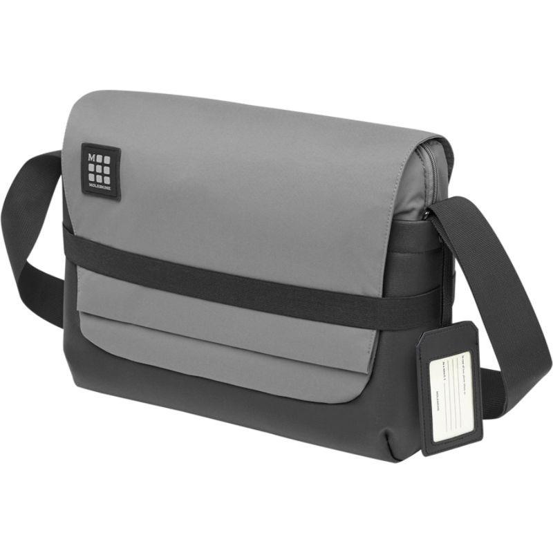 モレスキン メンズ スーツケース バッグ ID Messenger Bag Slate Grey