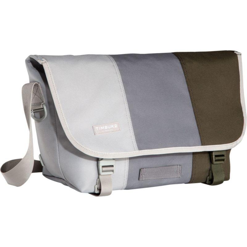 ティムブックツー メンズ ショルダーバッグ バッグ Classic Messenger Tres Colores- Medium Cinder
