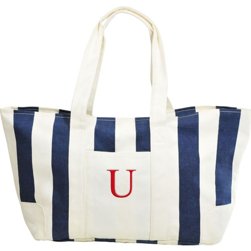 キャシーズ コンセプツ メンズ トートバッグ バッグ Monogram Tote Bag Blue - U