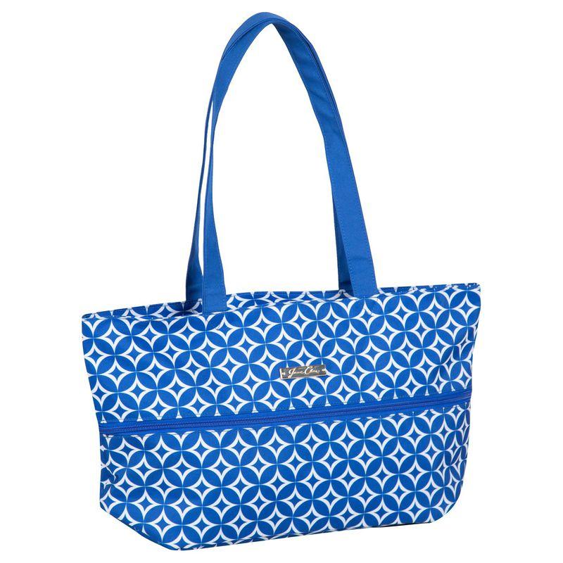 ジェニーチャン メンズ スーツケース バッグ Expandable Tote Blue